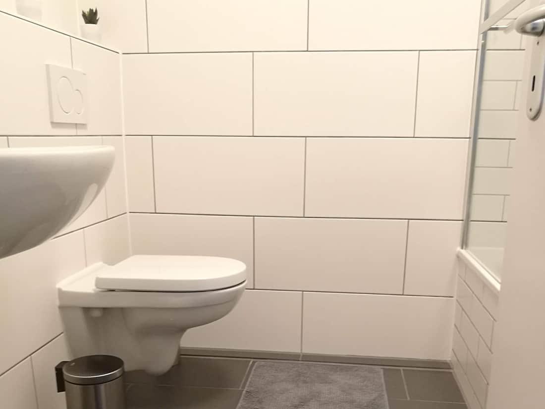 Bad Nachher: Modernes Duschbad zum Wohlfühlen