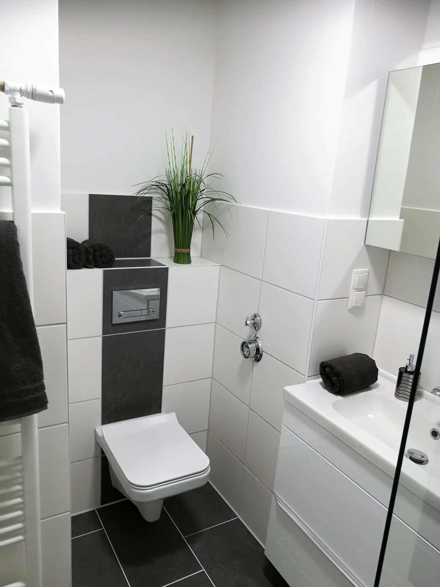 Eigentumswohnung in Hamburg Eppendorf direkt vom Eigentümer - Badansicht 1