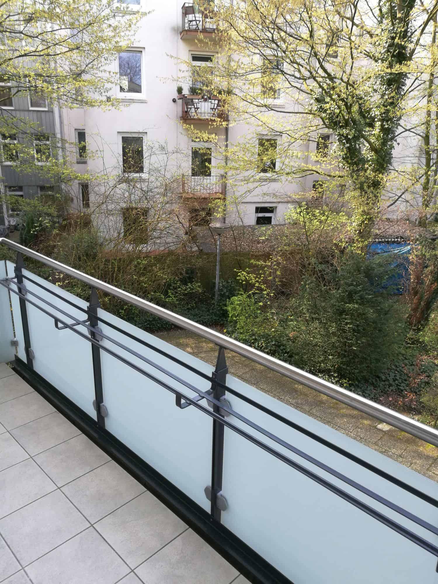 Eigentumswohnung in Hamburg Eppendorf direkt vom Eigentümer - Balkon