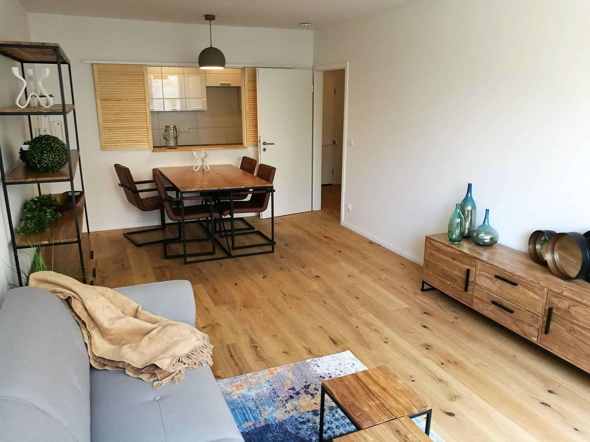 Eigentumswohnung in Hamburg Eppendorf direkt vom Eigentümer - Wohnzimmeransicht 1