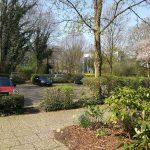 Eigentumswohnung in Hamburg Eppendorf direkt vom Eigentümer - Eingang/Parkplatz