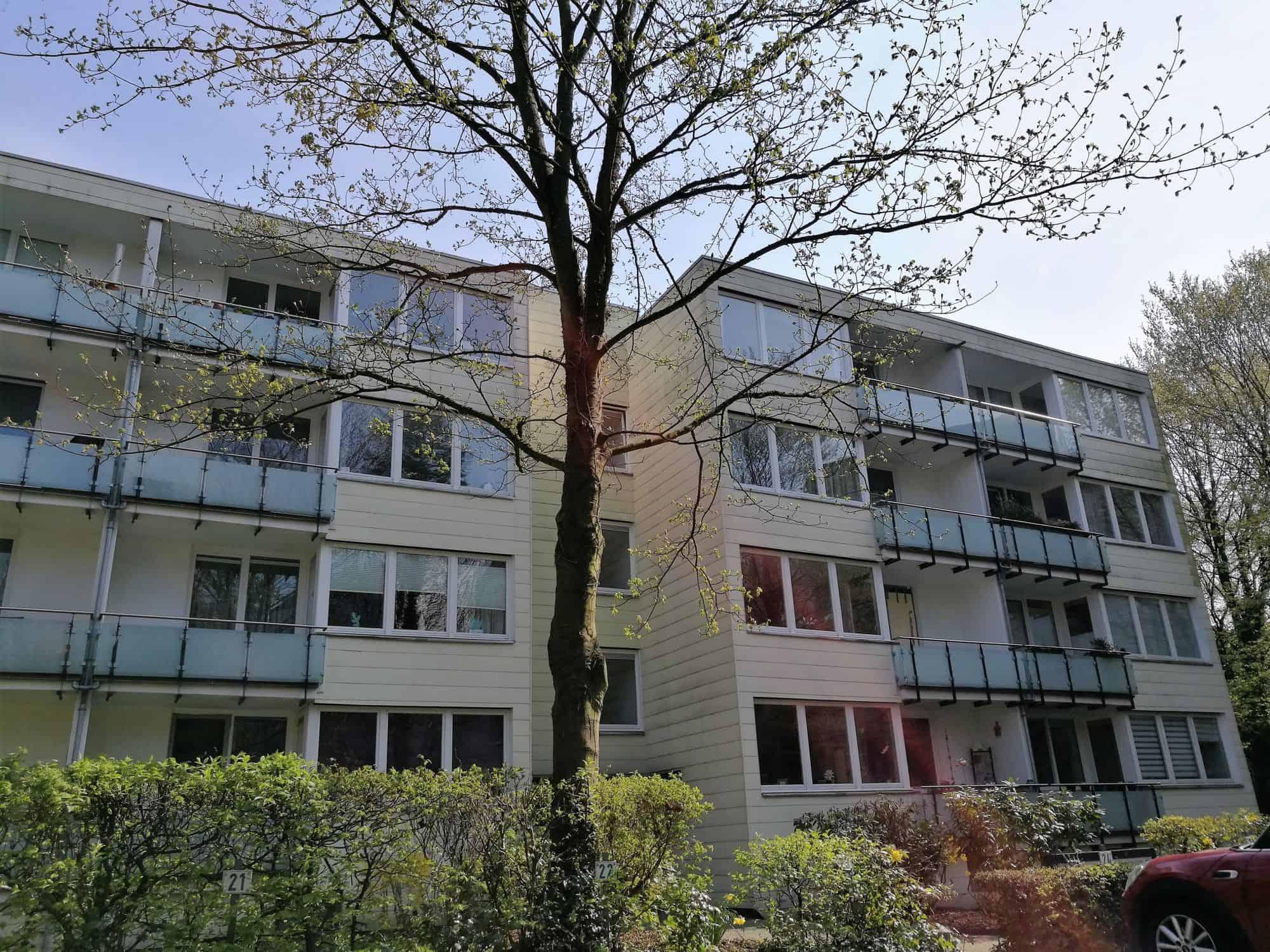 Eigentumswohnung in Hamburg Eppendorf direkt vom Eigentümer - Hausfront