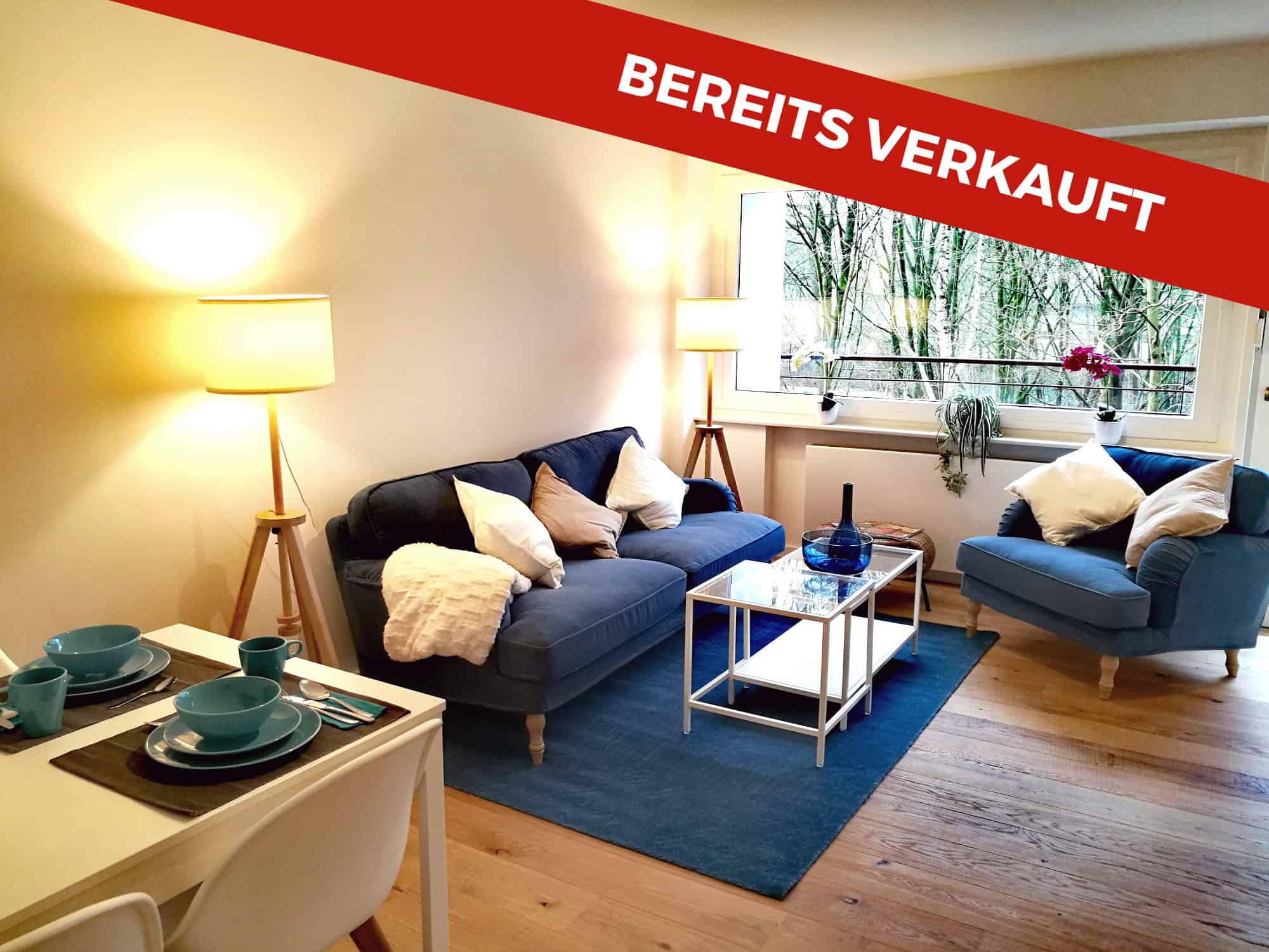 Bereits verkauft: 1,5 Zimmerwohnung in Norderstedt