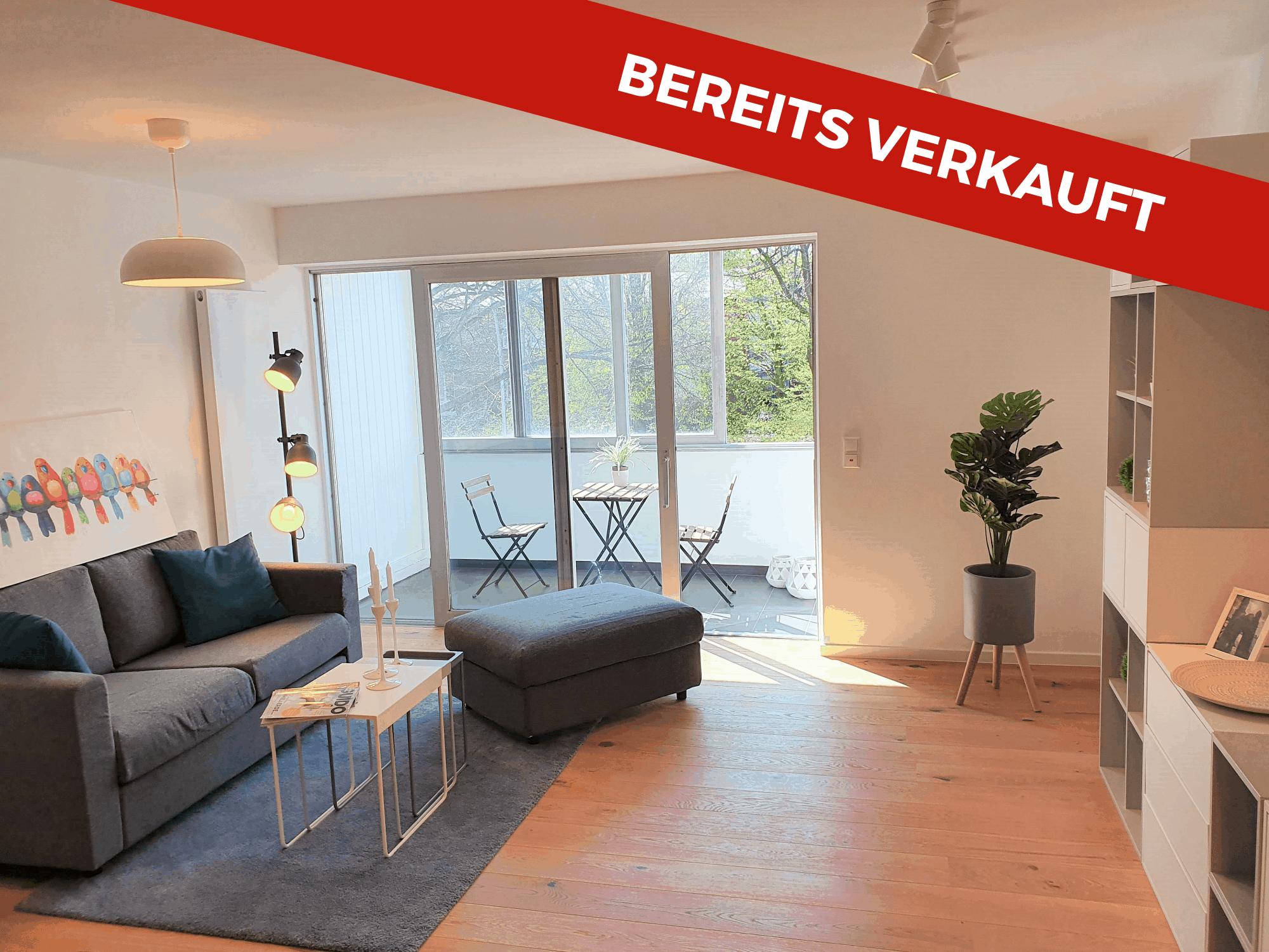 Bereits verkauft: 1 Zimmer Wohnung in Eppendorf