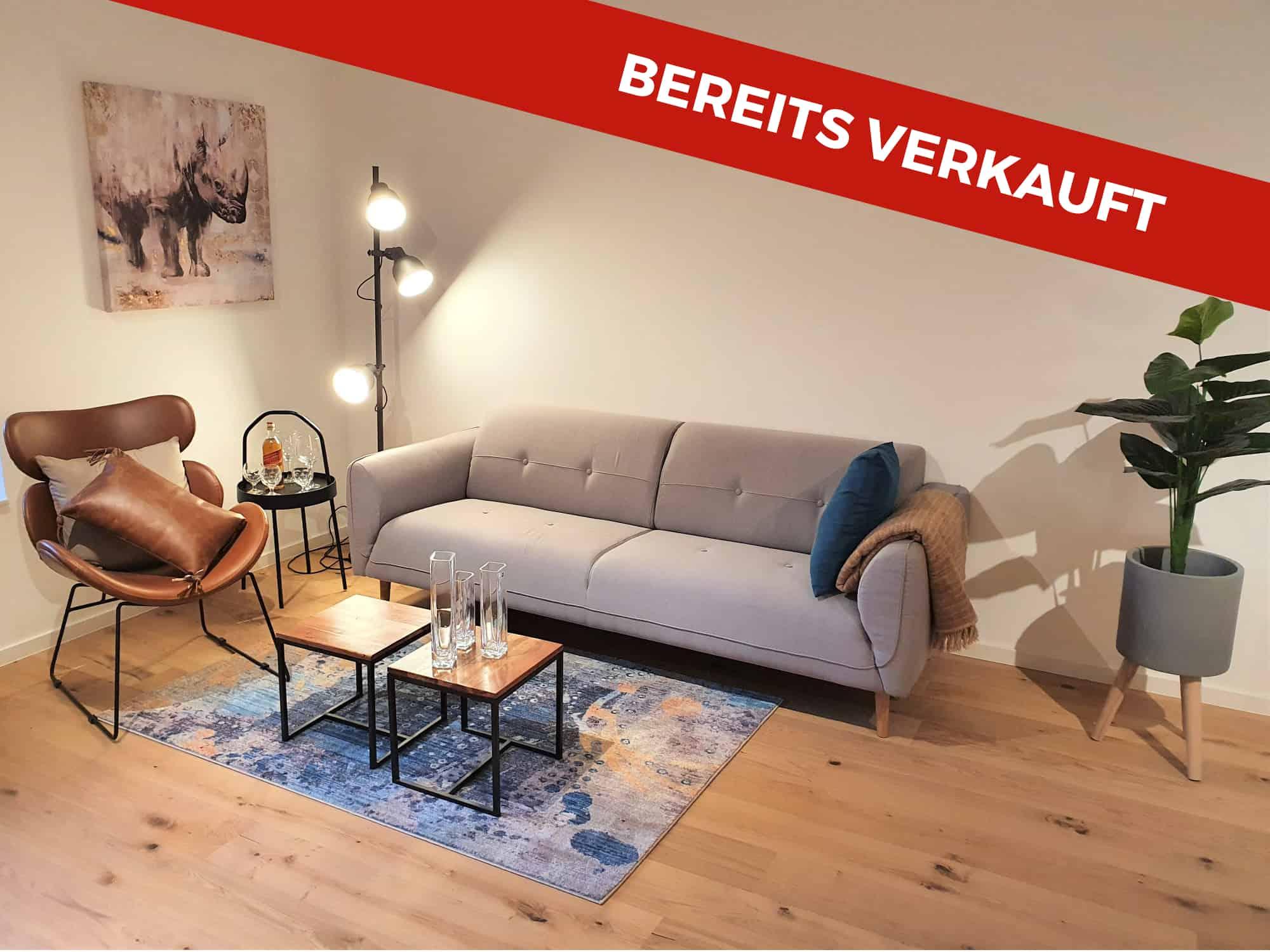 2Zimmer Terrassen Eigentumswohnung in Hamburg Sülldorf bereits verkauft