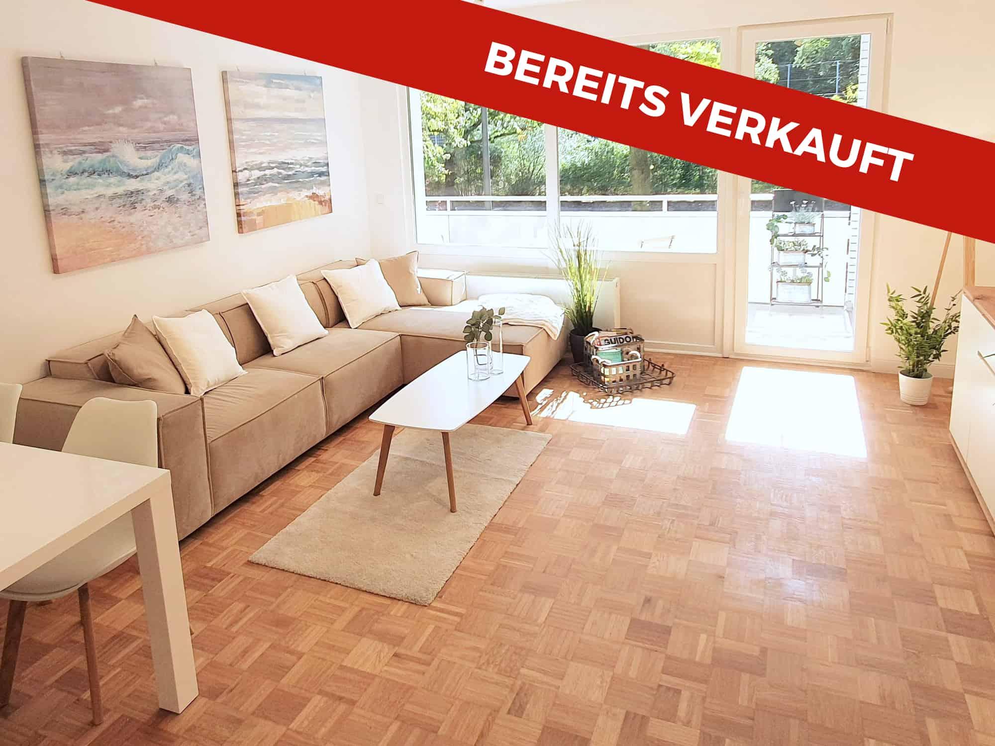 Bereits verkauft: Provisionsfrei 3 Zimmer-Wohnung am Stadtpark