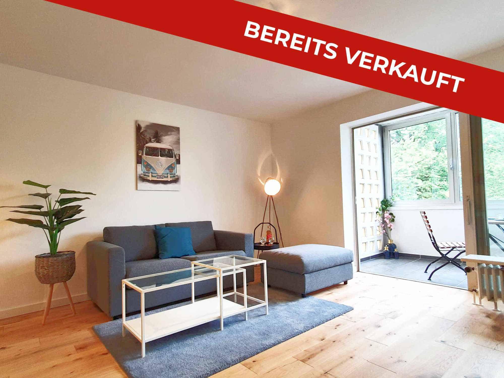 Bereits verkauft: 2 Zimmer-Wohnung Eppendorf
