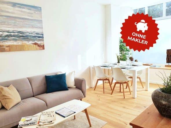 3 Zimmer Wohnung in Hamburg Winterhude - ohne Makler