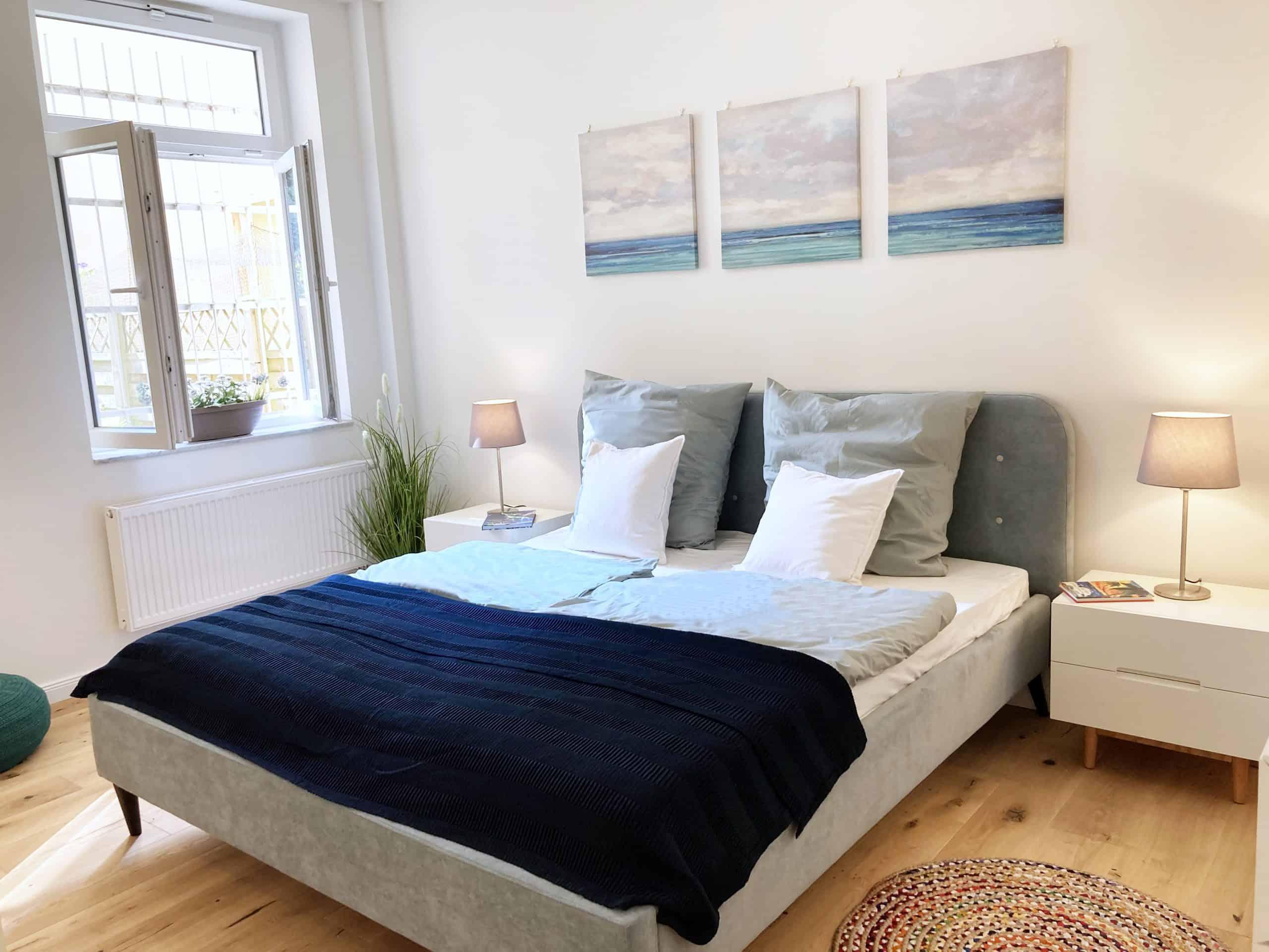 Schlafzimmer 3 Zimmer Wohnung in Hamburg Winterhude - ohne Makler