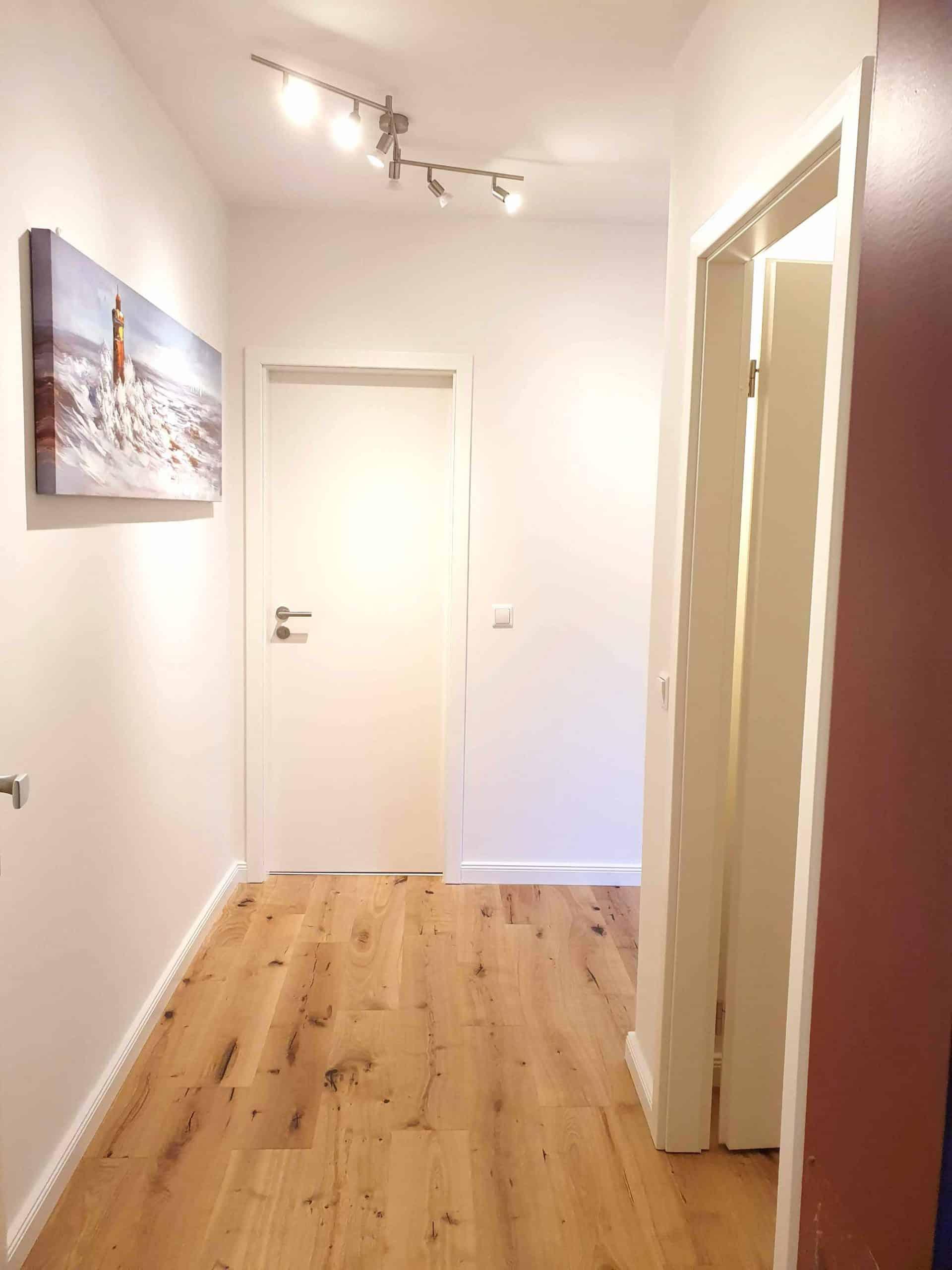 Provisionsfrei: 1 Zimmer Wohnung nahe UKE, Flur Eingangstür