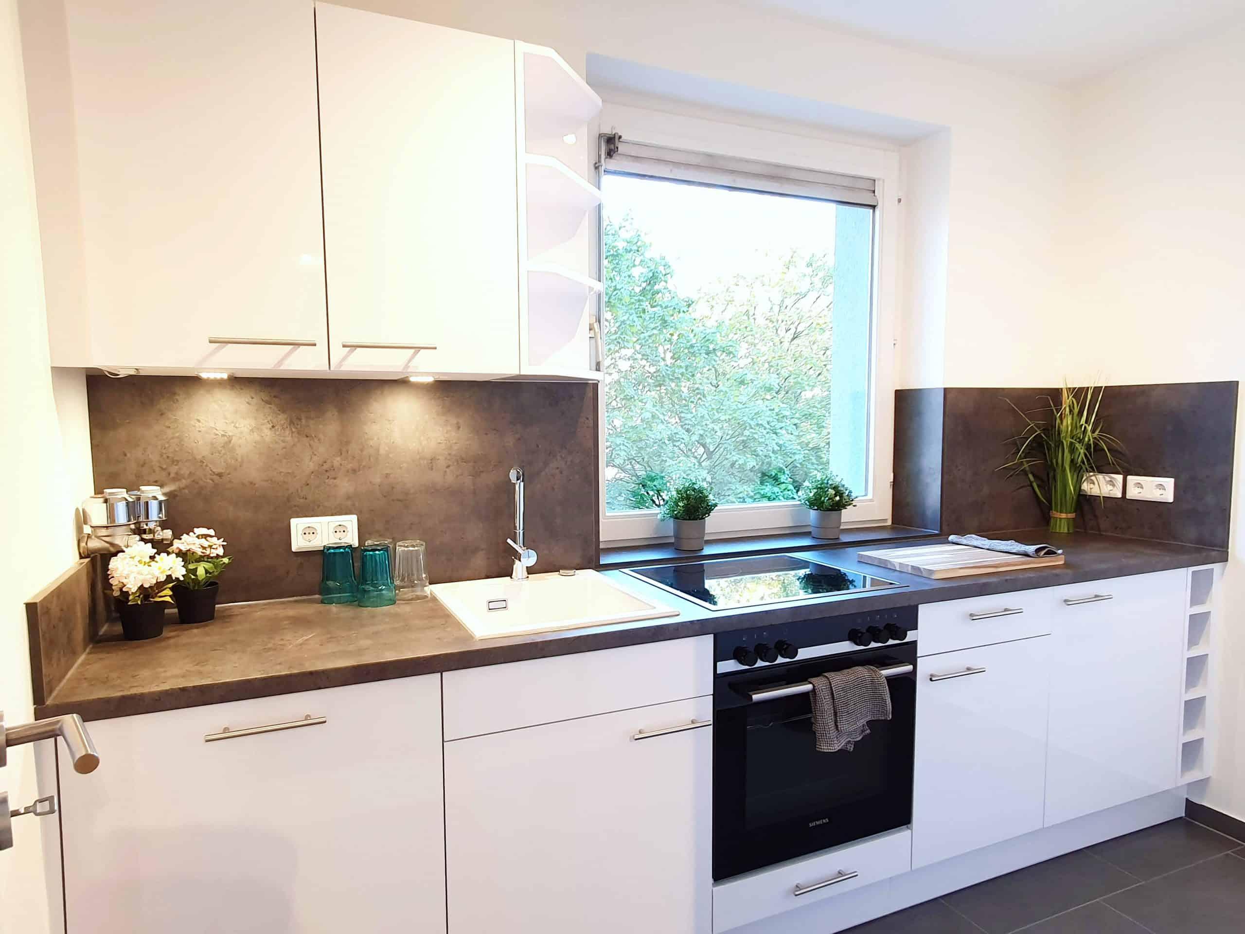 Provisionsfrei: 1 Zimmer Wohnung nahe UKE, Küche