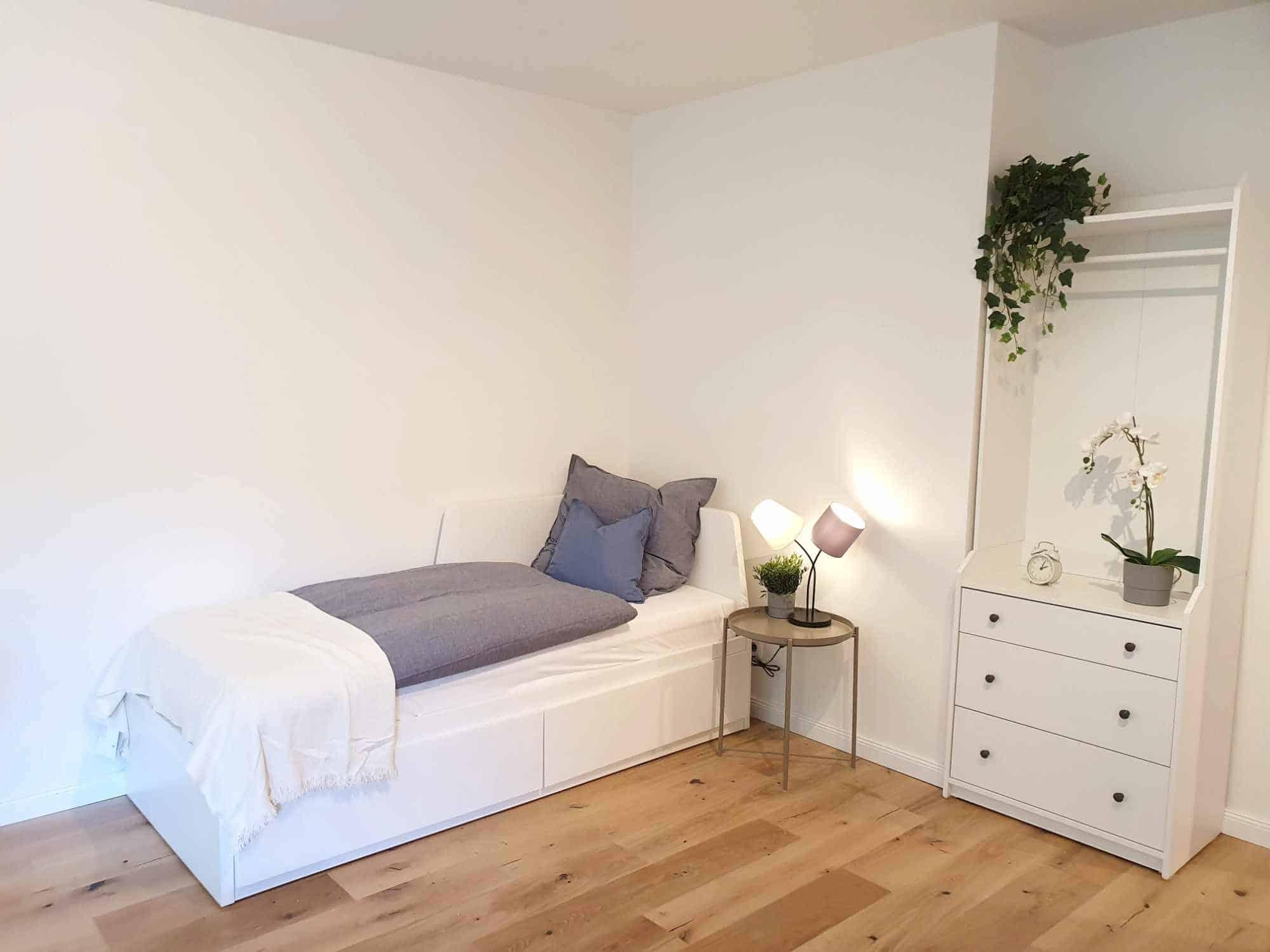 Provisionsfrei: 1 Zimmer Wohnung nahe UKE, Schlafnische